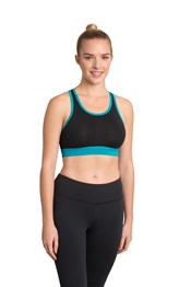 Zakti High Halter Sports Bra