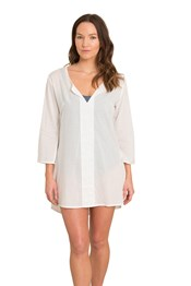 Zakti Breakfast Lunch And Beach Womens Coverup