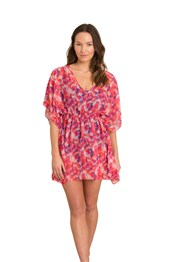 Zakti Seaside Sunset Womens Cover Up