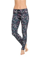 Zakti Reversible Womens Leggings