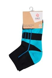 Zakti Track And Field Womens Trainer Socks