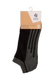 Zakti Double Your Comfort Mens Ankle Socks