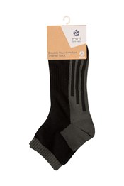 Zakti Double Your Comfort Trainer Mens Socks