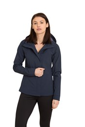 Zakti Calm Before The Storm Womens Softshell