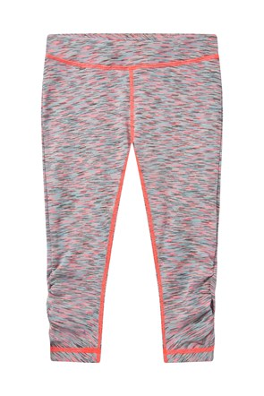 Kids Solar Space Ruched Capris