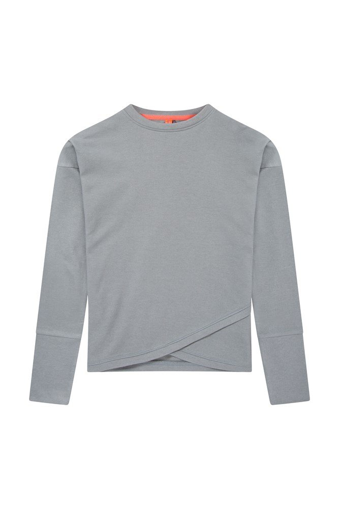 Kids Downtown Dance Sweatshirt - Grey