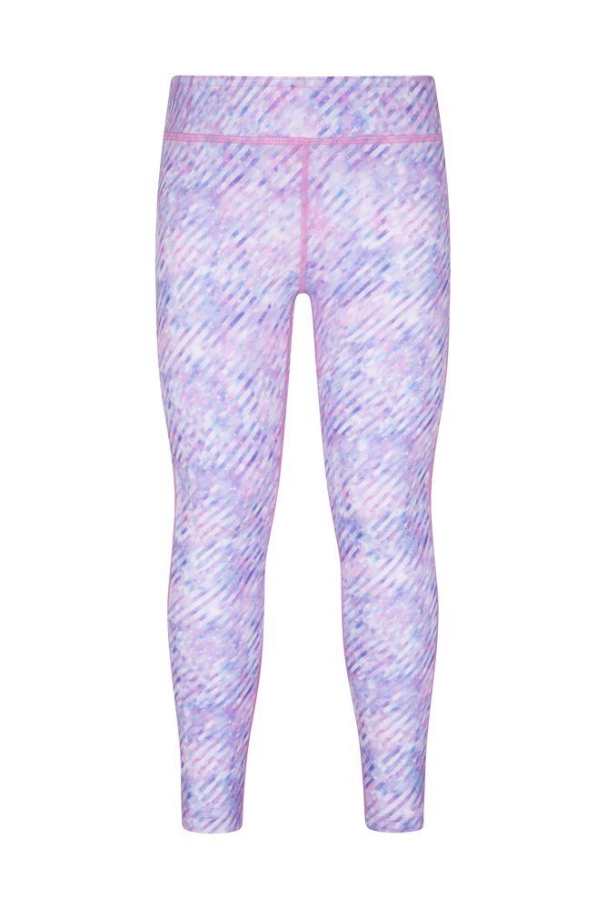 Kimberly Wyatt Kids Move To The Beat Patterned Leggings - Light Grey