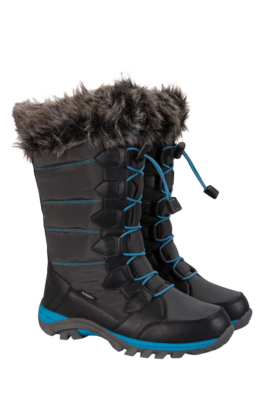 565766a5e07b Tread Lightly Kids Snowboots - Charcoal