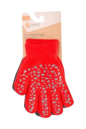 Kids Knitted Grippi Gloves