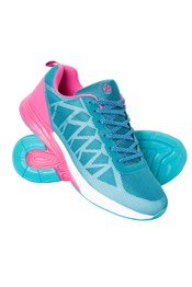 Zakti Womens Need For Speed Reflective Running Trainers