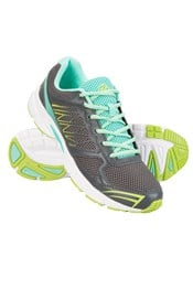 Zakti Womens On Track Athletic Running Shoes