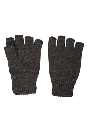 Sheep Shape Thinsulate Fingerless Wool Gloves