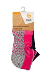 Zakti High Speed Technical Trainer Socks - 2Pk