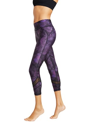 Zakti Womens Quick Reactions Printy Leggings