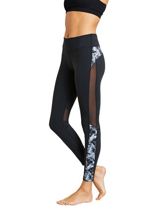 Zakti Make Your Mark Printy Womens Leggings