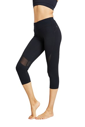 Zakti Womens Reveal II Capri Leggings