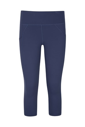 Get The Message II Damen Mesh Capri-Leggings