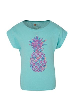 Zakti Kids Pineapple Printed Tee