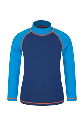 Zakti Waves Long Sleeve Kids Rash Vest