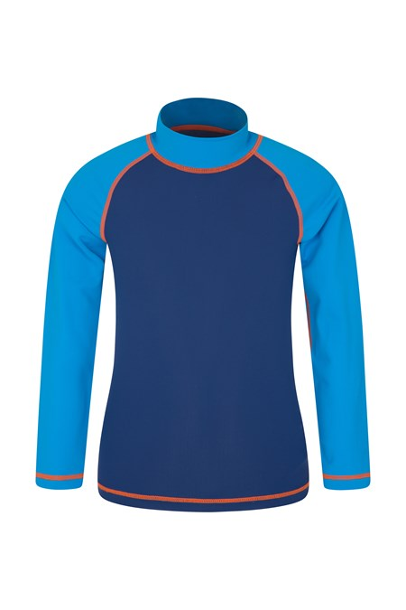 901631 WAVES LS BOYS RASH VEST