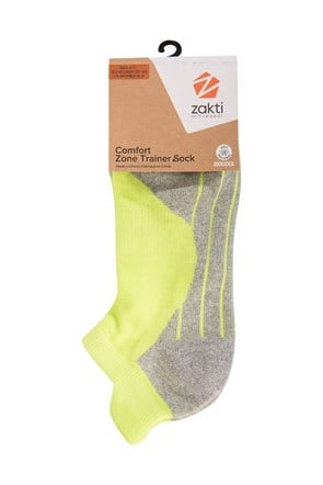 Womens Comfort Zone Trainer Socks