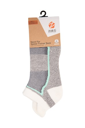 Womens Need For Speed Trainer Socks
