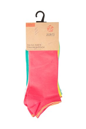 Oh So Soft Trainer Socks - 5 Pk