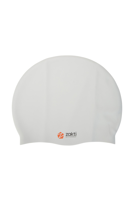 Zakti Swimming Cap - Silver