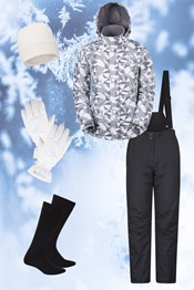 Womens Patterned Ski Package