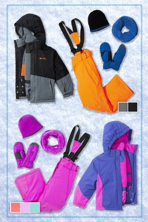 Kids Waterproof Ski Package