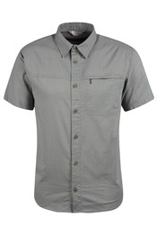 Coconut Short Sleeve Mens Travel Shirt