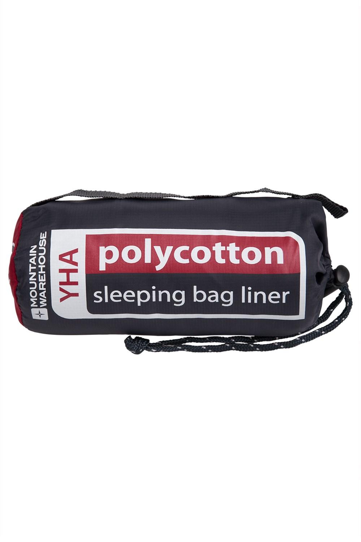 Polycotton Sleeping Bag Liner - Grey
