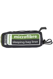 Microfibre Mummy Sleeping Bag Liner