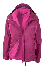 Storm 3 in 1 Womens Waterproof Jacket