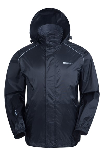 Pakka Mens Waterproof Jacket - Black
