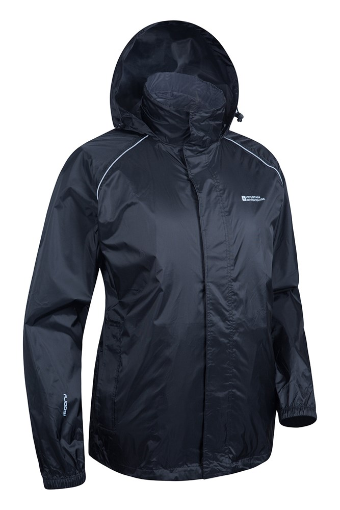 Mountain Warehouse Women/'s Pakka Jacket with Breathable Membrane and Taped Seams