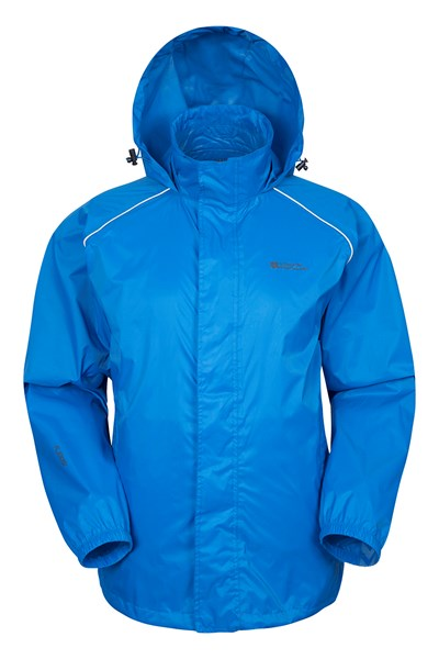 Pakka Mens Waterproof Jacket - Blue