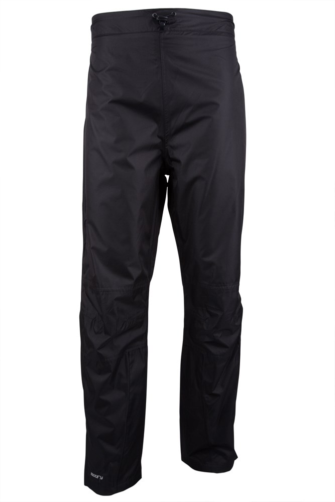 Spray Womens Short Length Waterproof Trousers - Black