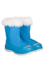 Caribou Kid's Fur Trimmed Snow Boots