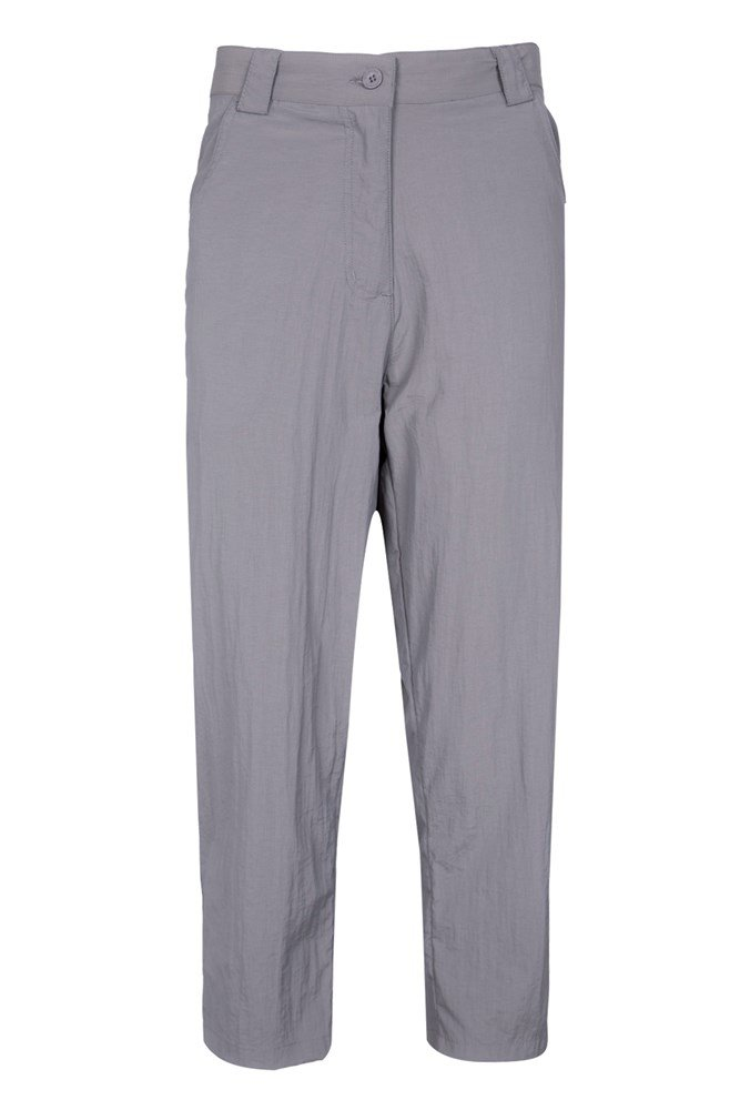 Terrain Womens Capris - Grey