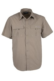 Trek Short Sleeved Men's Shirt