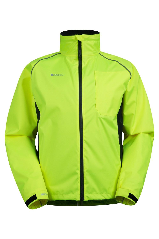 Adrenaline Mens Iso-Viz Jacket - Yellow