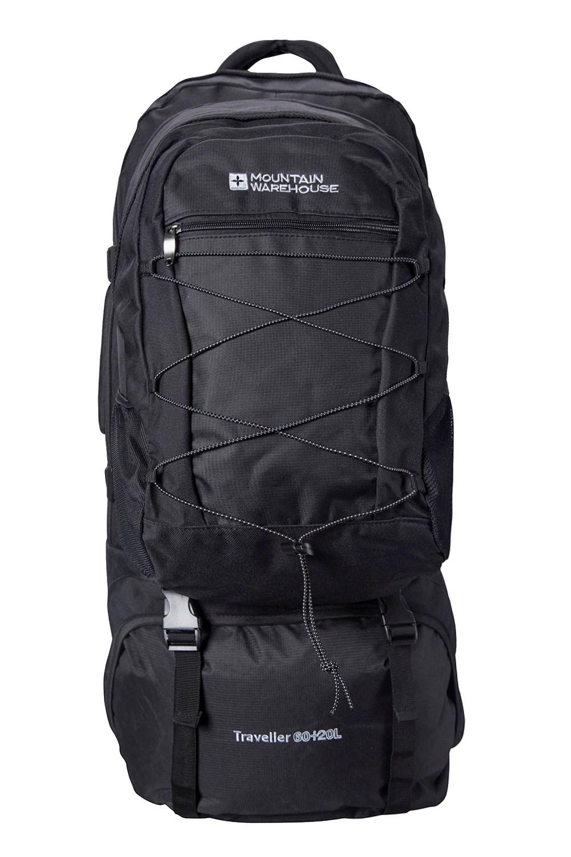 Traveller 60 + 20 Litre Backpack - Black