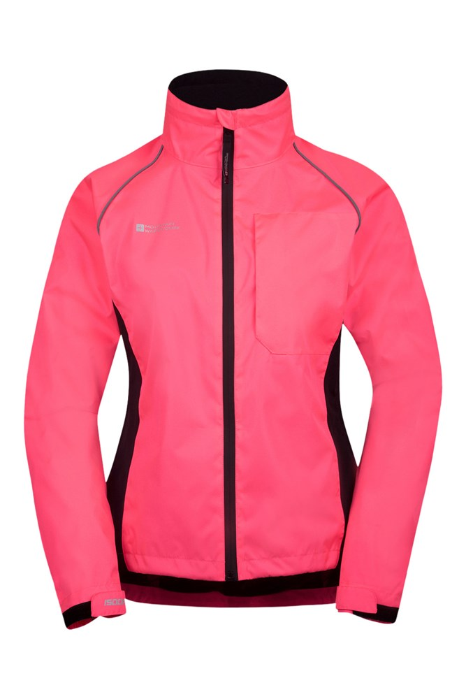Adrenaline Womens Waterproof Iso-Viz Jacket - Pink