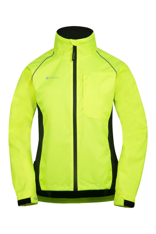 Adrenaline Womens Waterproof Iso-Viz Jacket - Yellow