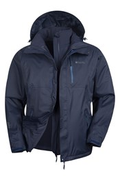 Bracken Extreme 3 in 1 Mens Waterproof Jacket