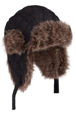 Kid's Furry Trapper Winter Hat