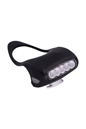 Bike Light - 5 LED Rubber Front Light