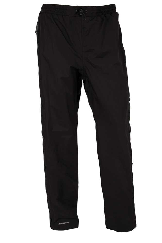 Downpour Womens Short Length Waterproof Trousers - Black