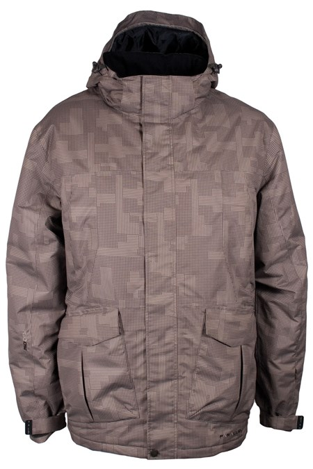 Yosemite Men's Patterned Ski Jacket